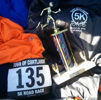 2nd place overall in Cortlandt 5K.