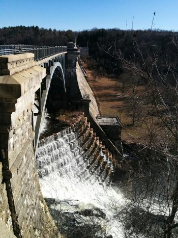 Croton Dam spillway.