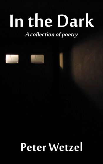 Front cover of poetry book In the Dark.