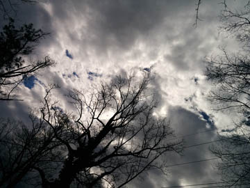 Afternoon Spring Storm Clouds. © 2015 Peter Wetzel.