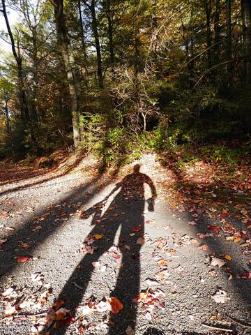 Self shadow. © 2015 Peter Wetzel.